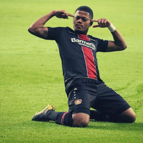 Leon Bailey von Bayer 04 möchte das Restprogramm gewinnen und in die Champions League einziehen.